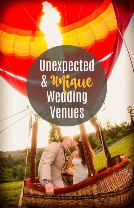 Unexpected & Unique Wedding Venues Image